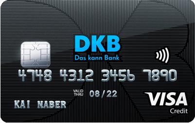 Visa Kreditkarte der DKB