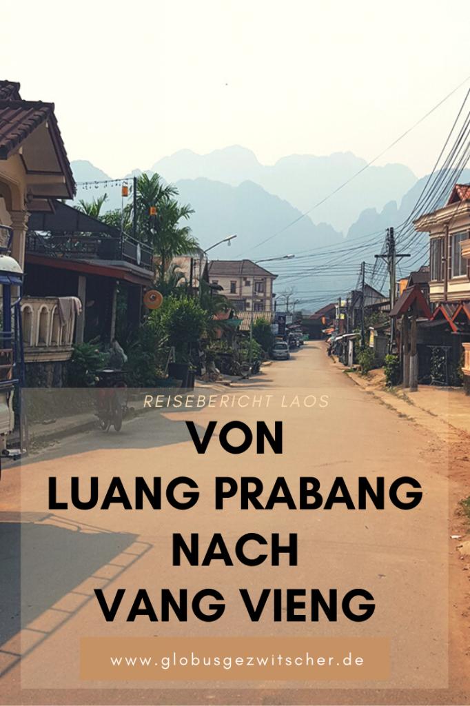 Von Luang Prabang nach Vang Vieng Pinterest